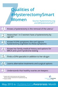 Hysterectomy dot org 7Traits Infographic