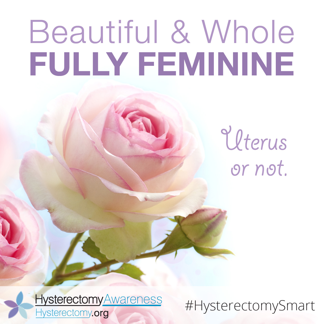 Beautiful and Whole Fully Feminine – Uterus or Not #HysterectomySmart #StillaWoman