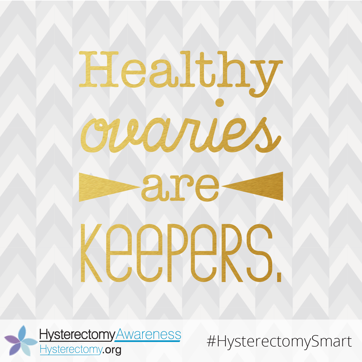 Healthy Ovaries are Keepers #HysterectomySmart