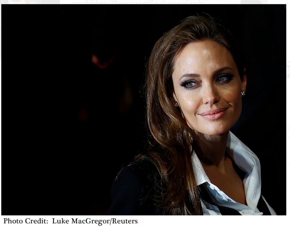 Angelina Jolie Talks About Her Second Preventative Cancer Surgery