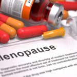 collection of various menopause treatments