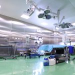 empty operating or surgical room