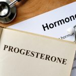 progesterone information with stethescope