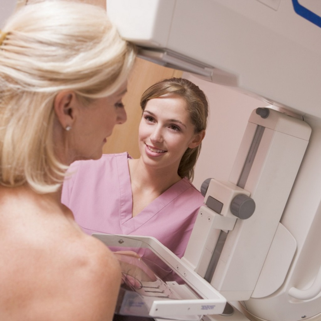 Breast exam after complete hysterectomy